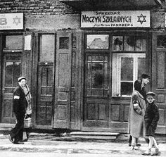 Stores owned by Jews had to be marked with a Star of David, another part of the increasing segregation of Jews.