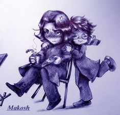Beloved professor by Ma-kosh.deviantart.com on @DeviantArt