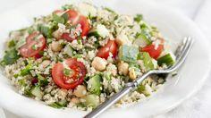 Quinoa-Tomaten-Salat mit Kichererbsen - smarter - Kalorien: 270 Kcal - Zeit: 40 Min.   eatsmarter.de