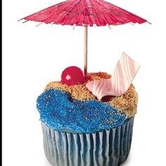 luau cup cake recipes   Recipes: Cupcakes & Cakes / Cupcake decorations! luau