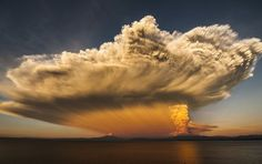 The Fury of Calbuco Volcano Photo by Cote Baeza — National Geographic Your Shot