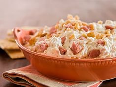 You don't have to go to Hawaii to appreciate this dip. Filled with Smithfield ham it makes a filling tailgating favorite.