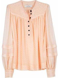 ShopStyle: By Malene Birger Elior dot blouse