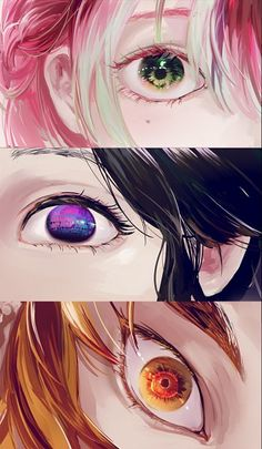 Kimetsu no Yaiba (Demon Slayer) Image - Zerochan Anime Image Board Manga Anime, Fanarts Anime, Anime Eyes, Otaku Anime, Manga Art, Anime Characters, Anime Art, Anime Angel, Anime Demon