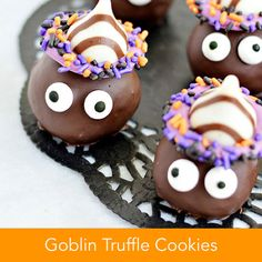 Goblin Truffle Cookies