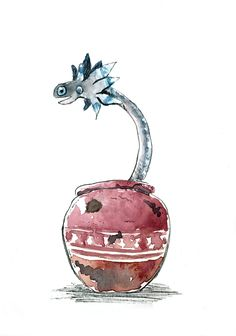 The Wiggler, one of the super cute pets you can catch in Monster Hunter World and put in your rooms :3