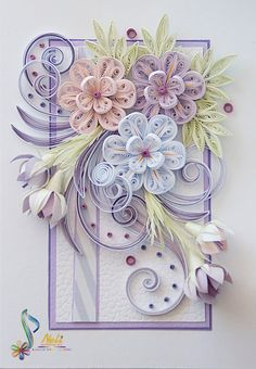 Neli is a talented quilling artist from Bulgaria. Her unique quilling cards bring joy to people around the world.Image gallery – Page 154670568438846491 – Artofit Neli Quilling, Paper Quilling Cards, Paper Quilling Flowers, Quilling Work, Paper Quilling Patterns, Quilled Paper Art, Quilling Paper Craft, Paper Crafts, Quilled Roses