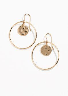& Other Stories | Hoop & Disc Earrings in Gold