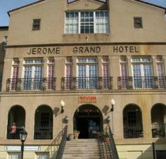 Jerome Grand Hotel, formerly a hospital for this historic town's miners, is believed to be one of the most haunted places in Arizona, and ghost tours are offered for guests.