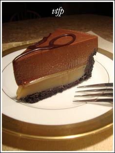 Viens te faire plaisir: Gâteau mousse chocolat et caramel