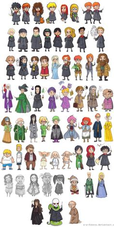 Harry Potter - Characters by A-A-Fresca. - Potter – Characters by A-A-Fresca.devian… … – Harry Potter – Characters by A-A-Fresca. Harry Potter Tumblr, Harry Potter Hermione, Fanart Harry Potter, Images Harry Potter, Arte Do Harry Potter, Harry Potter Cartoon, Cute Harry Potter, Harry Potter Drawings, Harry Potter Jokes