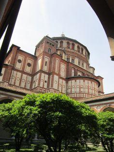 Milano, Santa Maria delle Grazie, Chiostro, part.