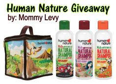 Win Human Nature Kid's Lunch Box and Natural Shampoo 500ml - Mommy Levy