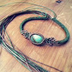 #jewelry #anklet #stone #macrame #macramejewelry #boho #turquoise #handmade #handmadejewelry #summer #ハンドメイド #天然石 #アクセサリー #マクラメ #アンクレット#ターコイズ