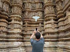 Khajuraho es una pequeña localidad de la INDIA