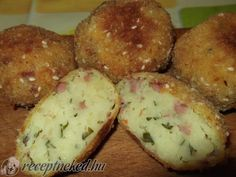 Potato Recipes, Meat Recipes, Chicken Recipes, Dinner Recipes, Cooking Recipes, Quiche Muffins, Hungarian Recipes, Kids Meals, Food Inspiration
