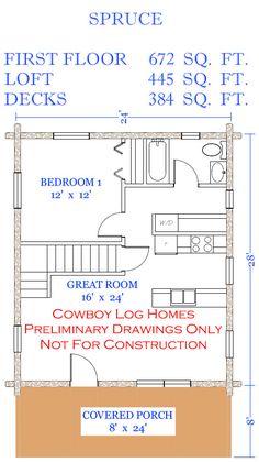 spruce first floor plan
