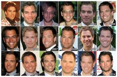 """theonewiththevows: """"The Evolution of: Michael Weatherly """" Ncis Rules, Anthony Dinozzo, Ziva And Tony, Ncis Characters, Bones Tv Series, Robert Sean Leonard, Ncis Cast, Friend Scrapbook, Ncis New"""