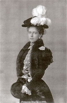Princess Marie of Romania 1894