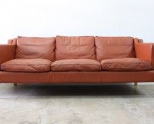 Danish leather sofa - The Vintage Shop