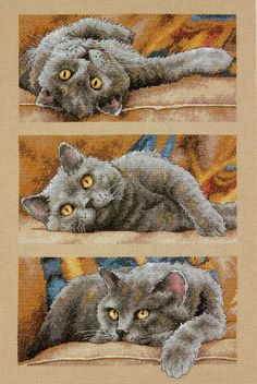 Kit Contains: Fabric, thread, needle, chart and instructions Type: Counted cross stitch kitFabric: 14 count AidaSize: 38cm x 25.5cm...
