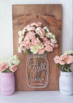 Идеи цветочных панно