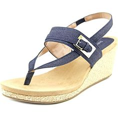 Style and Co Womens Jodii platform Wedges Sandals Black * To view further for this item, visit the image link.