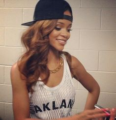 Rihanna hair colour.