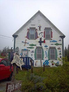 Nova Scotia along the Eastern shore