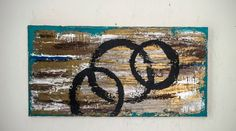 Triple Circles by MalloryPaigeArt on Etsy