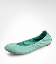 Tory Burch flats. Comfortable and less expensive than her other shoes. Buy a pair for work.