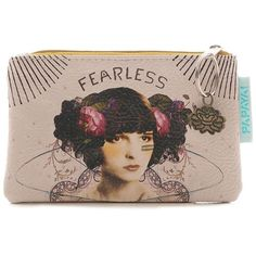 Papaya Art Fearless Coin Purse | Womens Accessories