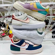 Nike Shoes Air Force, Nike Air Force Ones, Sneakers Fashion, Fashion Shoes, Shoes Sneakers, Fashion Tips, Air Max 1, Aesthetic Shoes, Fresh Shoes