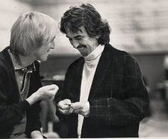 Tom Petty and George Harrison