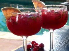 Raspberry Picante Paloma Pitchers recipe from Guy Fieri via Food Network