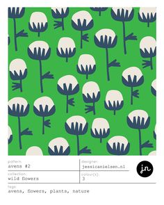 AVENS, AVENS LEAF and HOGWEED patterns on Behance