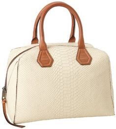 Amazon.com: Rebecca Minkoff Jayden Embossed Python H496G805 Shoulder Bag,Cream,One Size: Shoes
