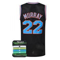 254287e89dc2 Bill Murray 22 Space Jam Tune Squad white Jersey