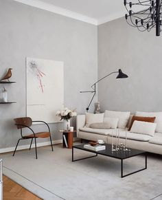 Beige Living Rooms, Ikea Living Room, Living Room Interior, Home Room Design, Living Room Designs, Ikea Sofas, Interior Decorating Styles, Interior Design, Söderhamn Sofa