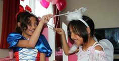 """Rangimaria and Starr, Marfan Syndrome, """"We wish to have a princess party"""""""