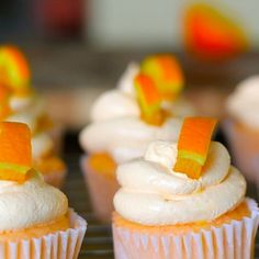 Creamsicle Cupcakes by Dashing Dish