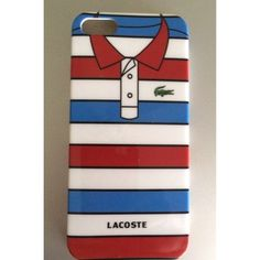 Striped red/blue/white polo shirt design hard case for iphone 5/5s (free shipping!)