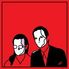 Kraftwerk for Forage Press. By Magnus Voll Mathiassen.