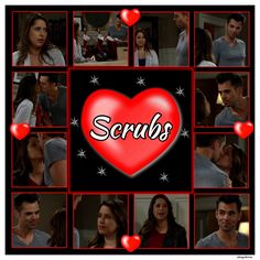 #GH #GH50 *Fans if used (re-pinned) please keep/give credit (alwayzbetrue)* #Scrubs Patrick & Robin