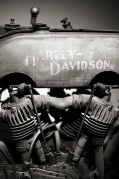 Vintage Harley