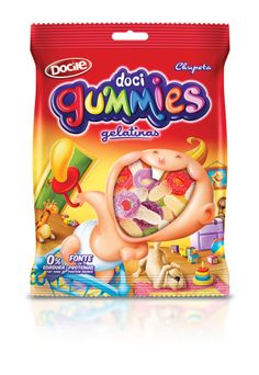 Packaging of the World: Creative Package Design Archive and Gallery: Doci Gummies