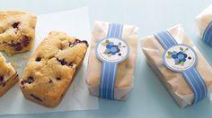 Blueberry-Lemon Tea Cakes