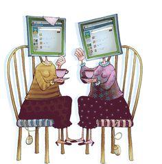 Internet Gossip  - Gif/animation    Via madebyabvh