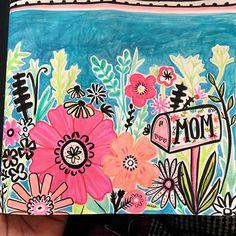 More blossom & blooms :)  #surtexprep #surtex #booth244 #prettypetals #surtex2016 #mothersdaycard #wip #sketchbook #gouache #greetingcarddesign #floralprint #sketchbookproject #moleskin #flowersformom #surtfacwdesign