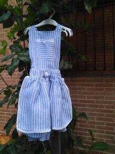 Pinafore dress. Baby Girls.